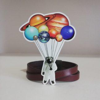 Astronot Uzay Sticker | codemonzy.com