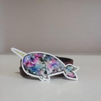 Balina Unicorn Sticker | codemonzy.com