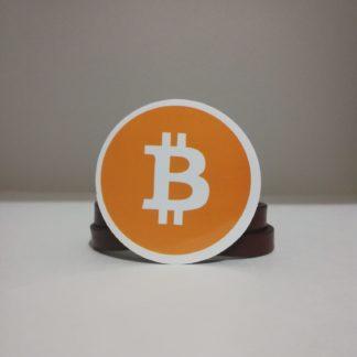 bitcoin turuncu sticker | codemonzy.com