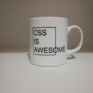 CSS is Awesome Kupa Bardak | codemonzy.com