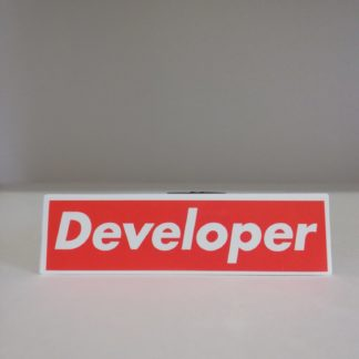 Developer Sticker | codemonzy.com