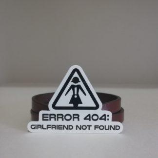 Error 404 : Girlfriend Not Found | codemonzy.com