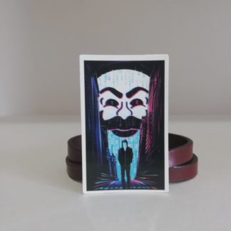 FSOCIETY Dark Sticker | codemonzy.com