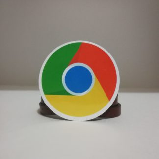 google chrome sticker | codemonzy.com
