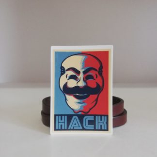 Hack Sticker | codemonzy.com