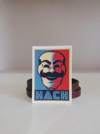 Hack Sticker | codemonzy.com