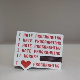 I hate programming ! | codemonzy.com