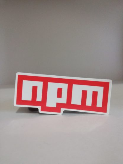npm Sticker | codemonzy.com