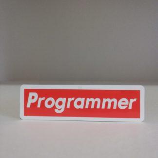 Programmer Sticker | codemonzy.com