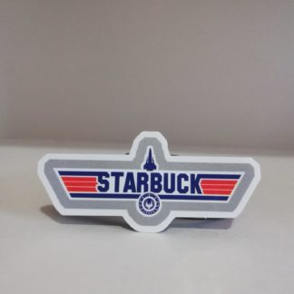 Starbuck Sticker | codemonzy.com