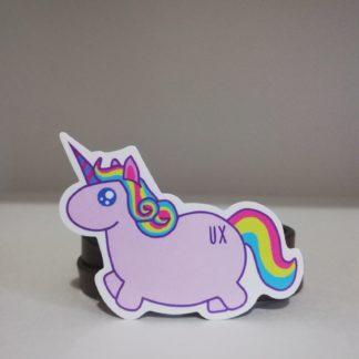 ux pony sticker | codemonzy.com