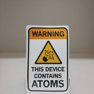 warning ! this device contains atom | codemonzy.com