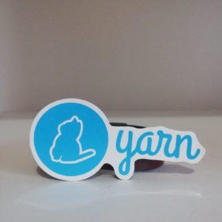 Yarn Sticker   codemonzy.com