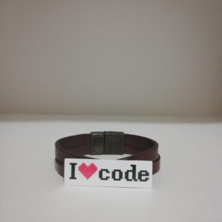 ı love code - küçük Sticker | codemonzy.com