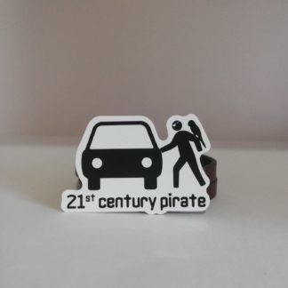 21'st centry pirate Sticker | codemonzy.com