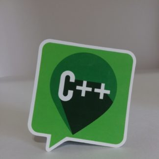 C++ Balon Sticker | codemonzy.com