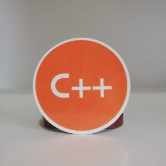 c++ sticker | codemonzy.com