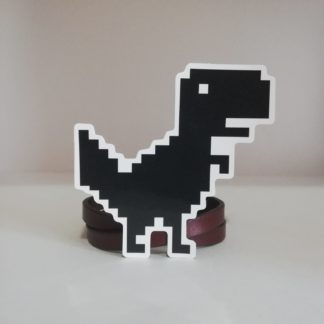 Chrome Dinozoru Büyük Sticker | codemonzy.com