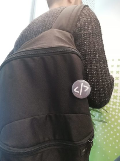 code rozet çanta görünümü- codemonzy.com - yazılımcı rozet