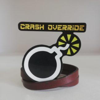 Crash Override Sticker | codemonzy.com