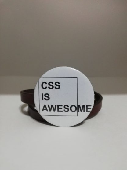 css is awesome - codemonzy.com - yazılımcı rozet