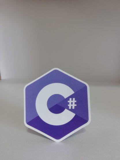 C# Sticker   codemonzy.com