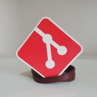 Git Logo Sticker | codemonzy.com
