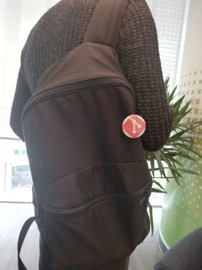 git rozet çanta görünümü- codemonzy.com - yazılımcı rozet