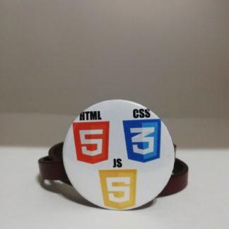 html css js rozet - codemonzy.com - yazılımcı rozet