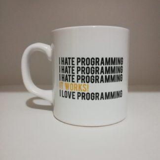 I Love Programming Kupa Bardak | codemonzy.com