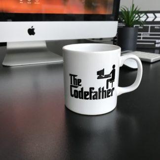 The Codefather Kupa Bardak | codemonzy.com
