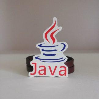 Java Küçük Sticker | codemonzy.com
