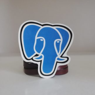 PostgreSQL Sticker | codemonzy.com