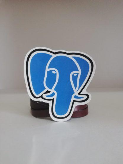 PostgreSQL Sticker   codemonzy.com