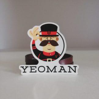 yeoman yazı sticker | codemonzy.com