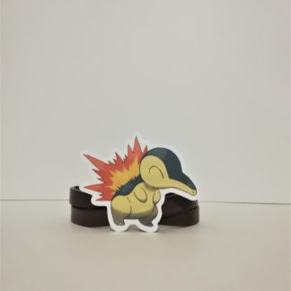 Cyndaquil - Pokemon Sticker | codemonzy.com