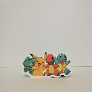 Muhteşem 4'lü - Pokemon Sticker | codemonzy.com