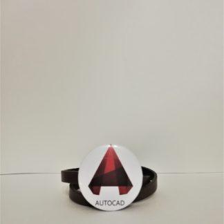 AutoCad Rozet - codemonzy.com - yazılımcı rozet