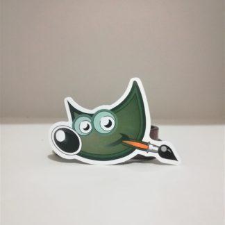 GIMP Sticker | codemonzy.com