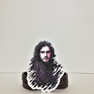 Jon Snow #1 Sticker | codemonzy.com