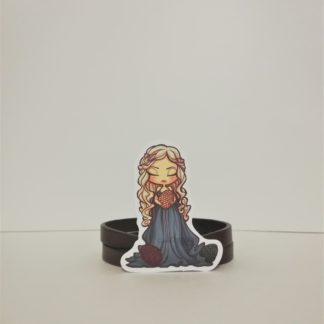 Khaleesi #3 Sticker | codemonzy.com