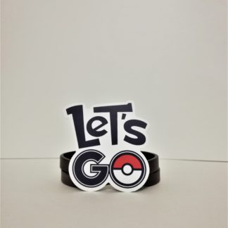 Let's GO - Pokemon Sticker | codemonzy.com