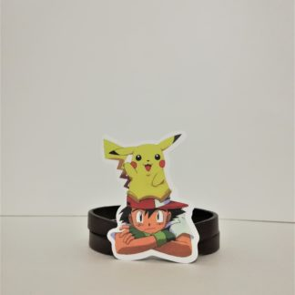 Ash ve Pikachu - Pokemon Sticker | codemonzy.com