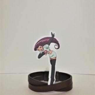 Jessie - Pokemon Sticker | codemonzy.com