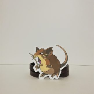 Raticate - Pokemon Sticker | codemonzy.com