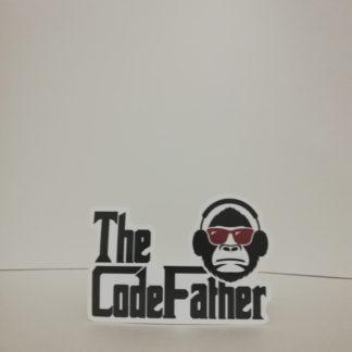The Codefather Sticker | codemonzy.com