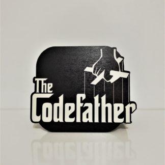 The CodeFather Bardak Altlığı | codemonzy.com
