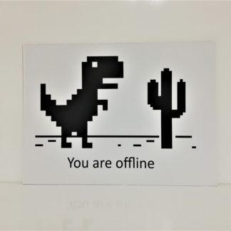 You are Offline Poster | codemonzy.com