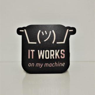 It Works On My Machine Bardak Altlığı | codemonzy.com