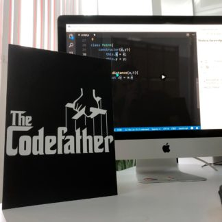 The CodeFather Poster | codemonzy.com